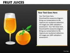 Orange Juice PowerPoint Templates And Oranges Ppt Presentations