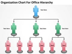 Organization Chart For Office Hierarchy Ppt Sample Business Plans PowerPoint Templates