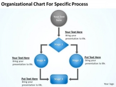 organizational chart for specific procee ppt business plan form