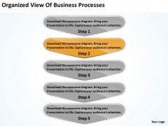 Organized View Of Business Processes Constructing Plan PowerPoint Slides