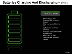 Out Of Energy Battery PowerPoint Slides And Ppt Template Diagrams