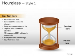 Out Of Time Hourglass 1 PowerPoint Slides And Ppt Diagram Templates