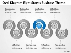 Oval Diagram Eight Stages Business Theme Ppt Plan PowerPoint Slides