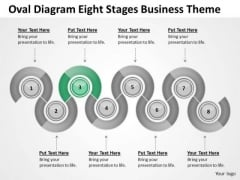 Oval Diagram Eight Stages Business Theme Ppt Plan PowerPoint Templates