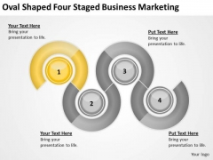 Oval Shaped Four Staged Business Marketing Ppt Plan Programs PowerPoint Templates