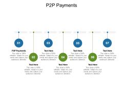 P2P Payments Ppt PowerPoint Presentation Portfolio Samples Cpb Pdf