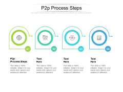 P2P Process Steps Ppt PowerPoint Presentation Icon Gallery Cpb Pdf
