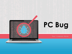 PC Bug Process Gear Ppt PowerPoint Presentation Complete Deck