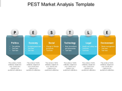 PEST Market Analysis Template Ppt Powerpoint Presentation Slides Tips