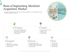 POS For Retail Transaction Basis Of Segmenting Merchant Acquisition Market Guidelines PDF