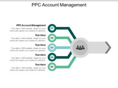PPC Account Management Ppt PowerPoint Presentation Inspiration Design Ideas Cpb