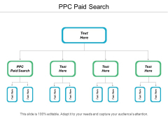 PPC Paid Search Ppt PowerPoint Presentation Infographics Objects Cpb