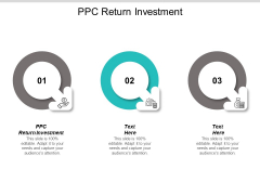 PPC Return Investment Ppt PowerPoint Presentation File Visuals Cpb