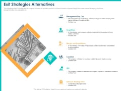 PPM Private Equity Exit Strategies Alternatives Ppt PowerPoint Presentation Pictures Vector PDF