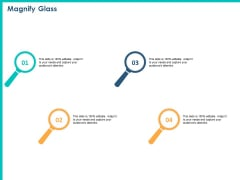 PPM Private Equity Magnify Glass Ppt PowerPoint Presentation Ideas Templates PDF