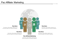 Pac Affiliate Marketing Ppt PowerPoint Presentation Ideas Graphics Design Cpb