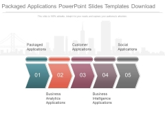 Packaged Applications Powerpoint Slides Templates Download