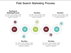 Paid Search Marketing Process Ppt PowerPoint Presentation File Slide Cpb