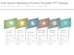 Paid Search Marketing Process Template Ppt Sample