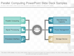 Parallel Computing Powerpoint Slides Deck Samples
