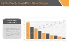 Pareto Graph Powerpoint Slide Designs