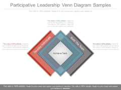 Participative Leadership Venn Diagram Samples