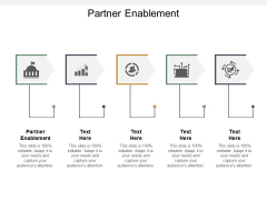 Partner Enablement Ppt PowerPoint Presentation Infographics Slides Cpb