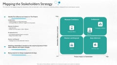 Partner Engagement Planning Procedure Mapping The Stakeholders Strategy Elements PDF