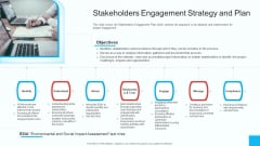 Partner Engagement Strategy Initiative Stakeholders Engagement Strategy And Plan Mockup PDF