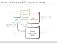 Partner Infrastructure Ppt Samples Download