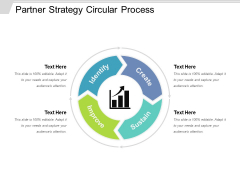 Partner Strategy Circular Process Ppt PowerPoint Presentation Styles Graphic Images PDF