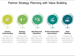 Partner Strategy Planning With Value Building Ppt PowerPoint Presentation Inspiration Format Ideas PDF