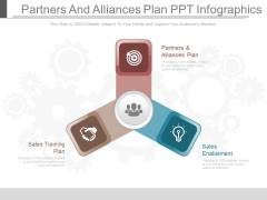 Partners And Alliances Plan Ppt Infographics