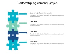 Partnership Agreement Sample Ppt PowerPoint Presentation Model Styles Cpb
