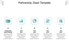 Partnership Deed Template Ppt PowerPoint Presentation Model Master Slide Cpb Pdf