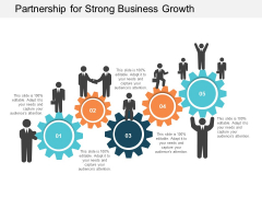 Partnership For Strong Business Growth Ppt PowerPoint Presentation Show Background Images