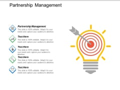 Partnership Management Ppt PowerPoint Presentation Icon Vector Cpb