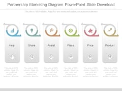 Partnership Marketing Diagram Powerpoint Slide Download