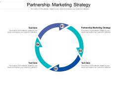 Partnership Marketing Strategy Ppt PowerPoint Presentation Layouts Show Cpb Pdf