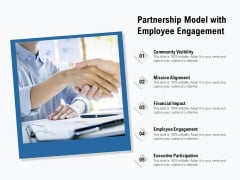 Partnership Model With Employee Engagement Ppt PowerPoint Presentation Professional Slide PDF