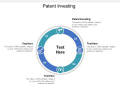 Patent Investing Ppt PowerPoint Presentation Inspiration Sample Cpb Pdf