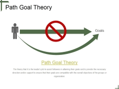Path Goal Theory Tamplate 1 Ppt PowerPoint Presentation Slide Download