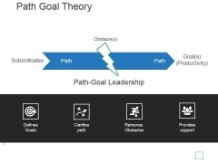 Path Goal Theory Template 3 Ppt PowerPoint Presentation Background Image