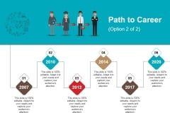 Path To Career Ppt PowerPoint Presentation Slides Professional