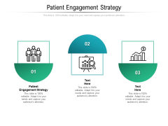 patient engagement strategy ppt powerpoint presentation model ideas cpb pdf
