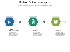 Patient Outcome Analytics Ppt PowerPoint Presentation Styles Designs Cpb Pdf