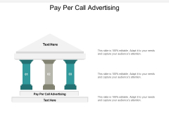 Pay Per Call Advertising Ppt PowerPoint Presentation Professional Gridlines Cpb