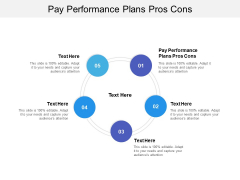 Pay Performance Plans Pros Cons Ppt PowerPoint Presentation Icon Styles Cpb