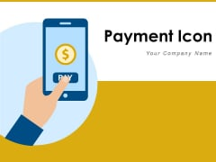 Payment Icon Fraud Stamp Dollar Sign Ppt PowerPoint Presentation Complete Deck
