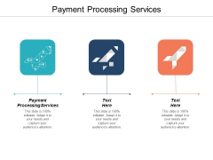 Payment Processing Services Ppt PowerPoint Presentation Model Format Cpb